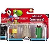 NINTENDO Mario Bros Universe Micro Land Wave 1: Layer Cake Desert with Luigi Playset, 3-Pack NINTENDO Mario Bros Univers Micro Terrain Vague 1: Couche Gâteau désert avec Luigi Portique, 3-Pack