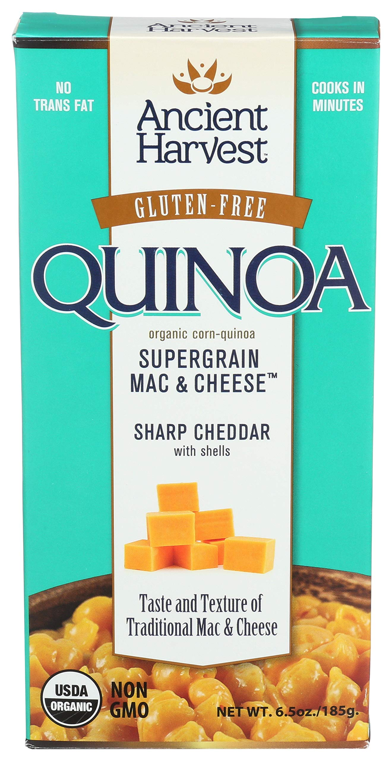 ANCIENT HARVEST Mac & Cheese Gluten Free sharp cheddar, 6 oz by Ancient Harvest