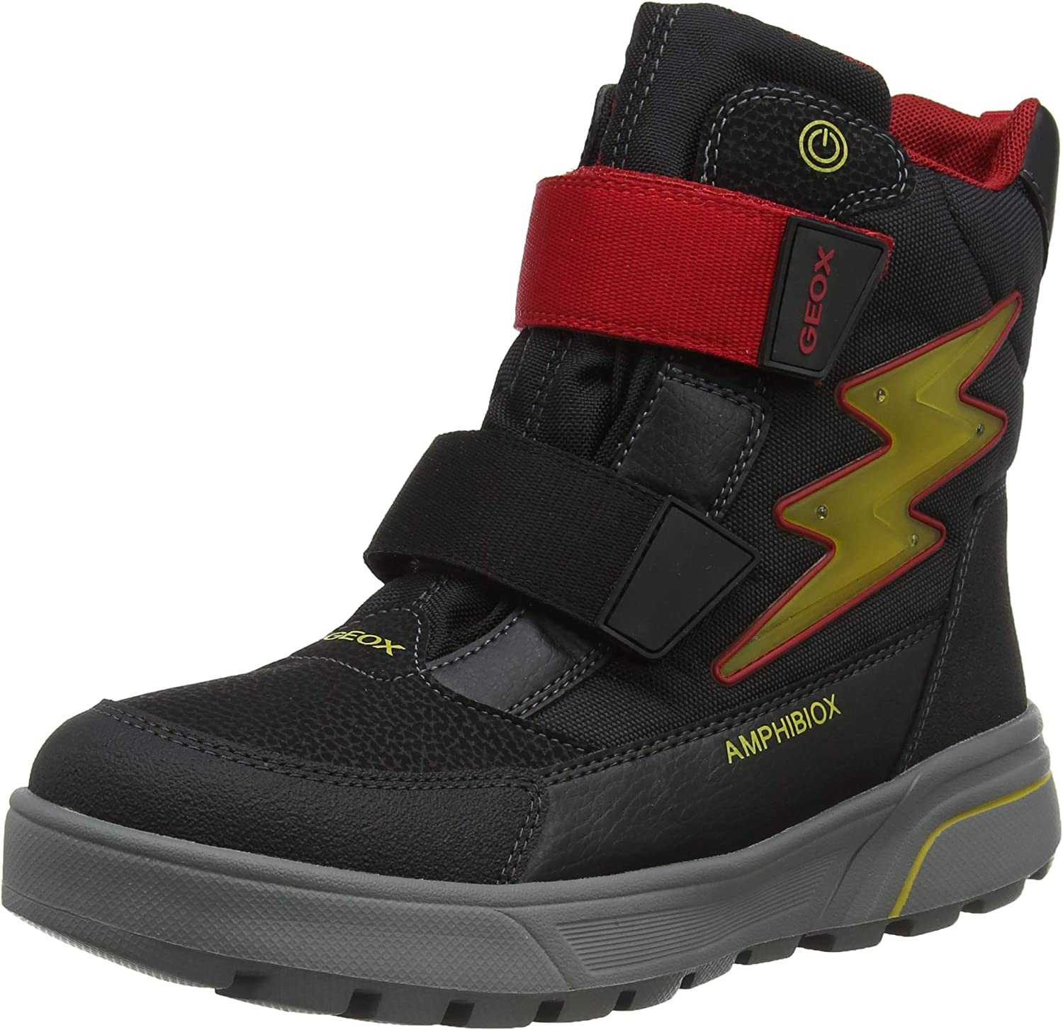 Jadeo preocupación Humedal  Geox Boy's J Sveggen B ABX C Snow Boots: Amazon.co.uk: Shoes & Bags