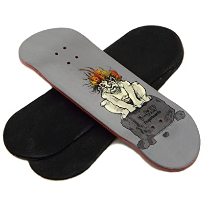 30mm Wooden Fingerboard Deck Red Peoples Republic