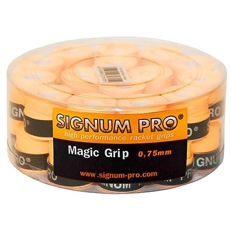 Signum Overgrip Magic Grip 30er - Mango de Raqueta de Tenis, Color Naranja, Talla