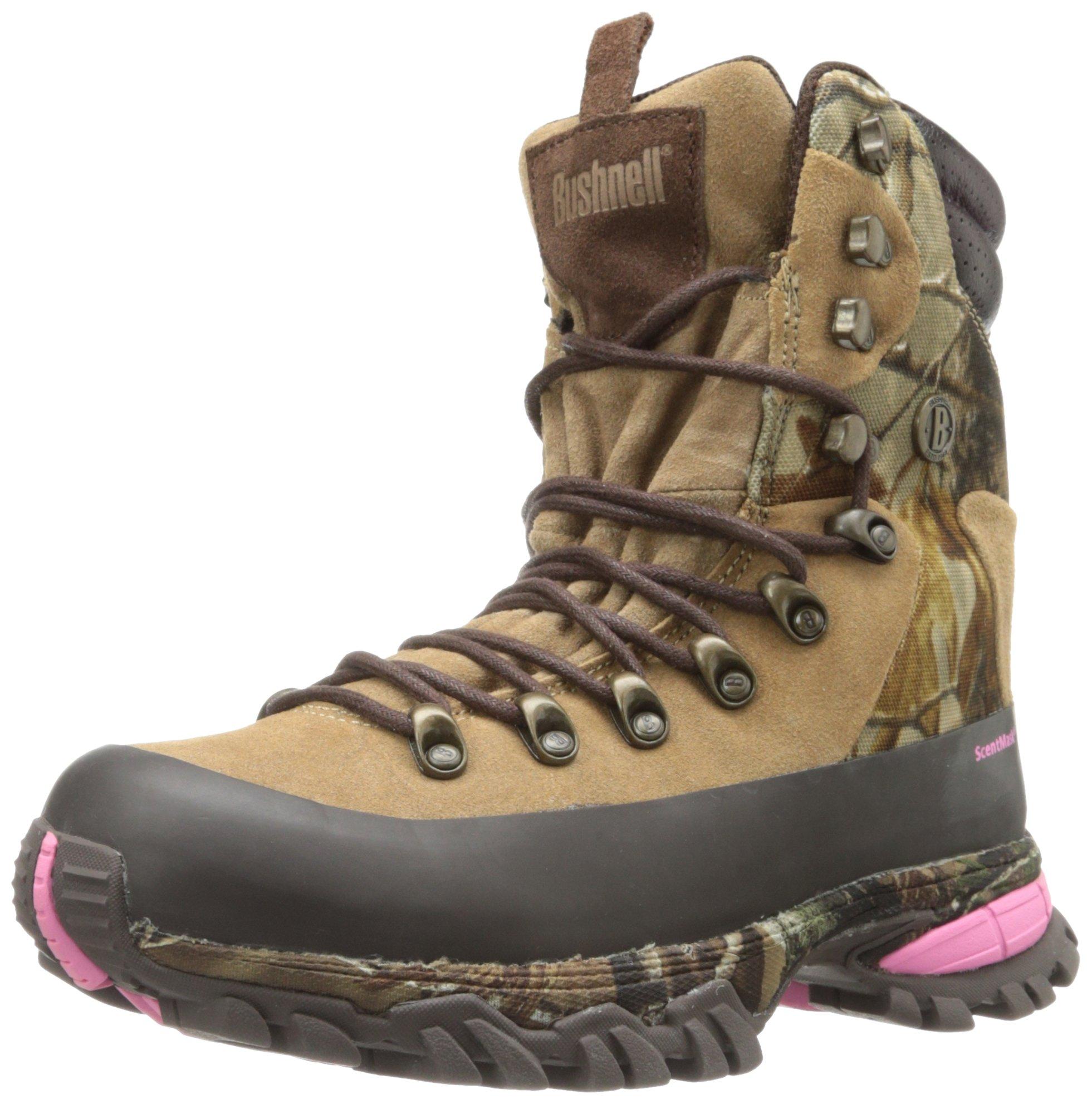 Bushnell Women's Sierra High Hunting Boot,Realtree,5 M US