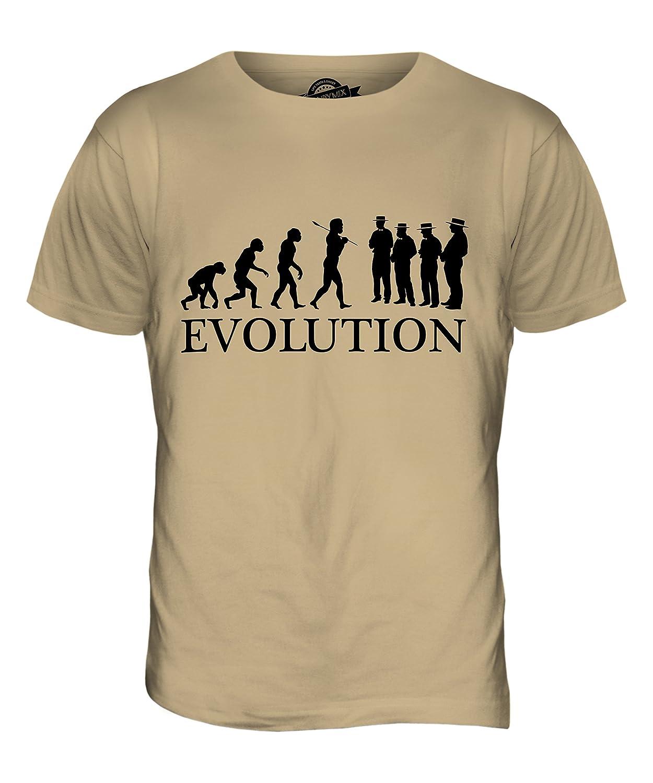 CandyMix Barbershop Quartett Evolution Des Menschen Herren T Shirt:  Amazon.de: Bekleidung