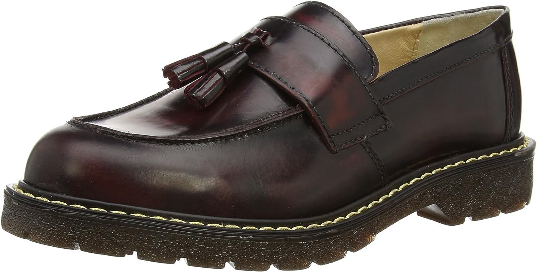 Grinders Cuthbert - Zapatos sin Cordones de Cuero Hombre