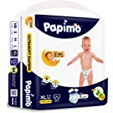 Papimo Baby Xtra Large Size Diaper Pants, 56 Count