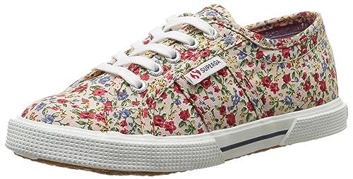 Sneakers multicolore per bambina Superga Fabric 3pLMaJuk