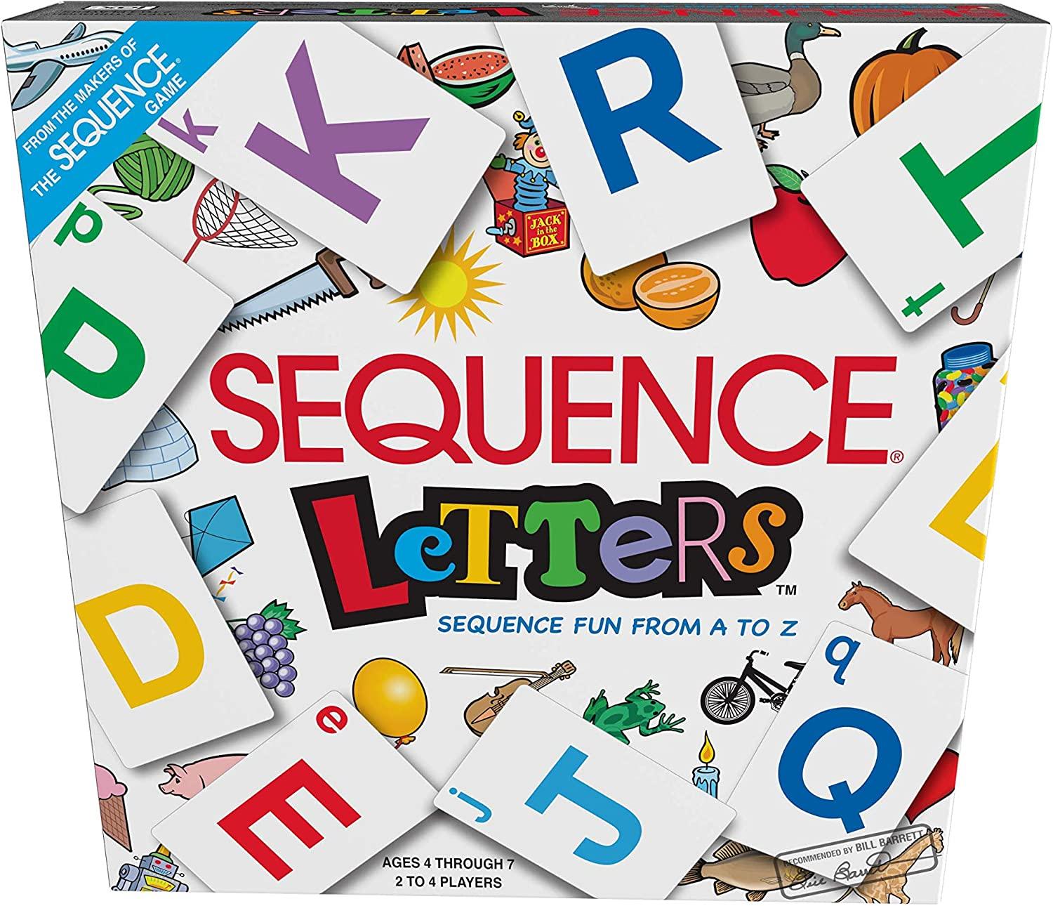 Amazon Com Sequence Letters By Jax Sequence Fun From A To Z Toys Games