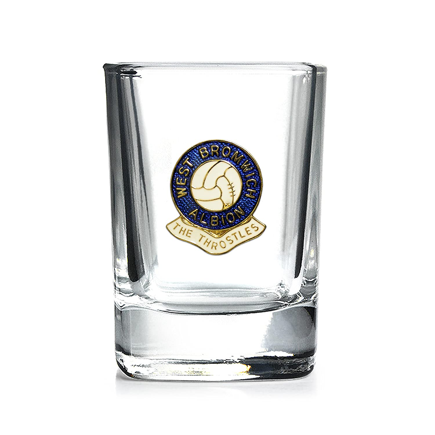 West Bromwich Albion football club mixer glass