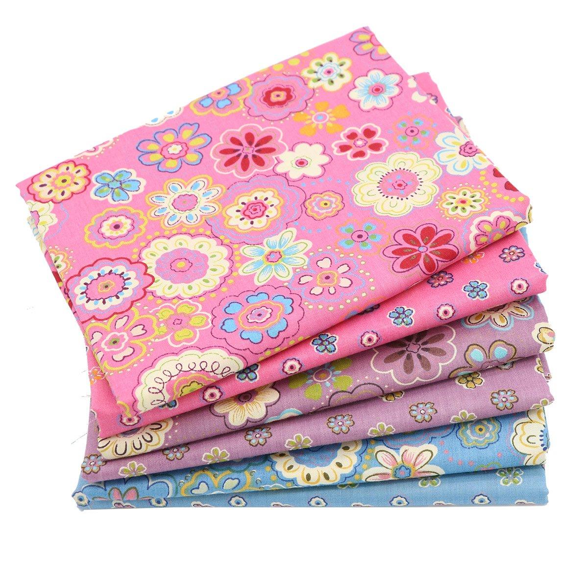 iNee Fat Quarters Quilting Fabric Bundles 18