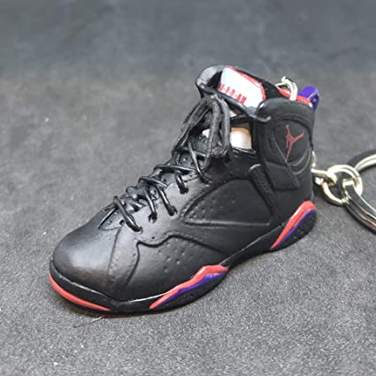 wholesale dealer 55c63 8cbb5 Amazon.com : Air Jordan VII 7 Retro Raptors Black Purple OG ...