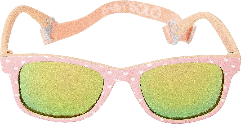 Baby Solo Babyfarer Baby Infant Sunglasses Safe, Soft, and Adjustable 0-24 Months