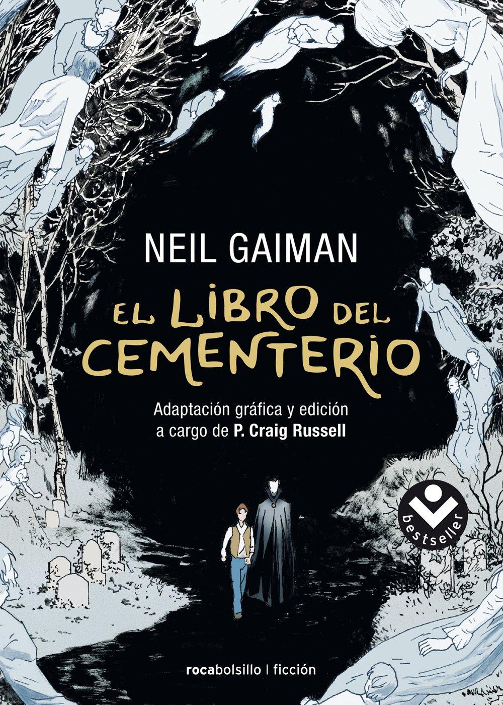 Resultado de imagen de 'El libro del cementerio' de Neil Gaiman