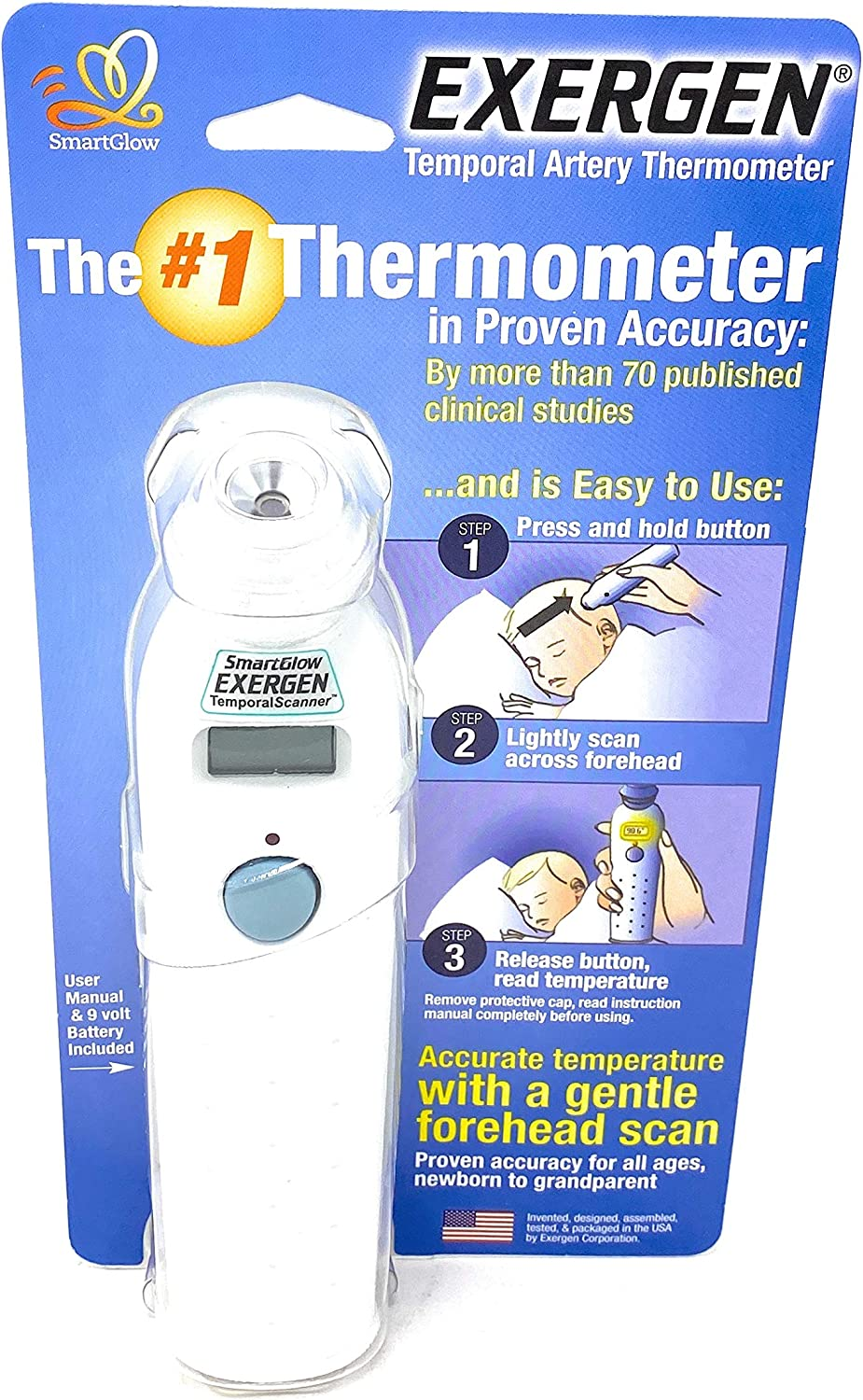 Exergen Temporal Artery Thermometer Model# TAT-2000C