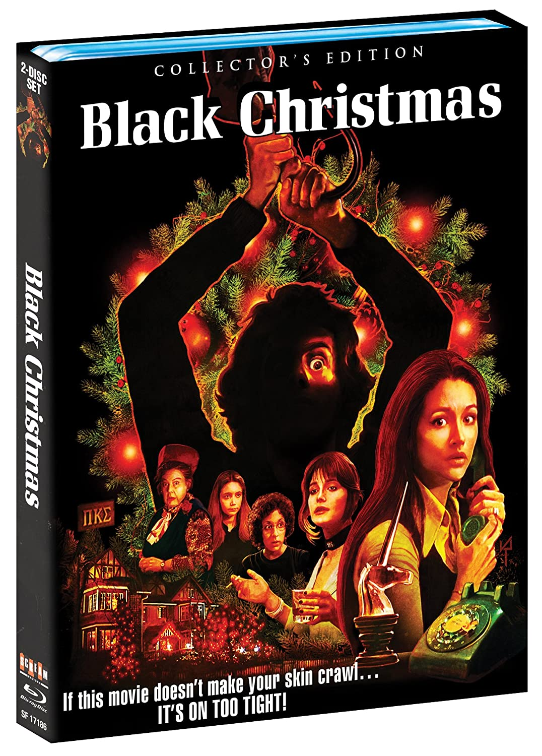 amazoncom black christmas collectors edition blu ray margot kidder john saxon keir dullea bob clark movies tv - Black Christmas Movie