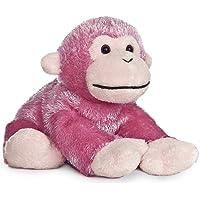 """Jungle Brights Pink Monkey 8"""" by Aurora"""
