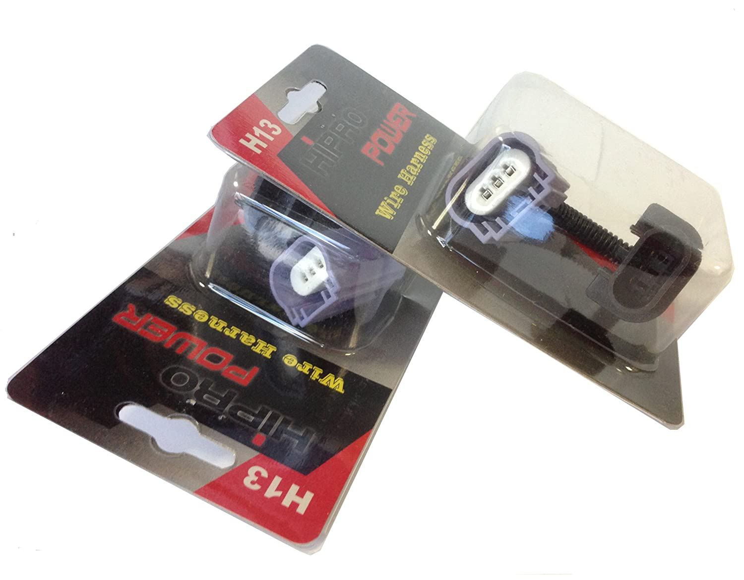 H13 Wiring Harness Library D2r Hid Headlights Wire Diagram Amazoncom Hipro Power 9008 Heavy Duty Headlight