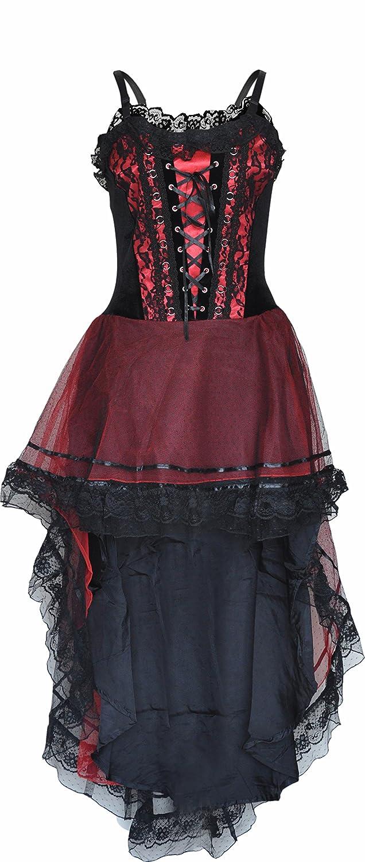 Amazon Gothic Prom Dress Blackred Halloween Wedding Large Size Clothing: Gothic Halloween Wedding Dress At Websimilar.org
