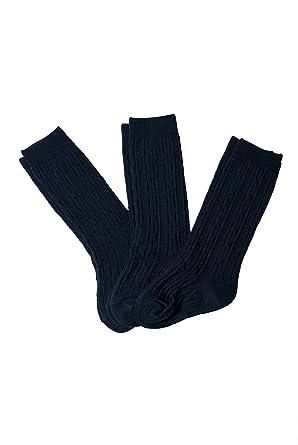 55e26391f53 Amazon.com  French Toast Big Girls  Uniform Cable Knee High Socks (3 ...