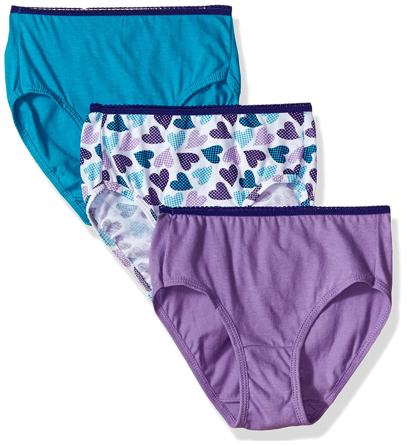 Hanes Big Girl's Ultimate ComfortSoft 3 Pack Brief GUS40A