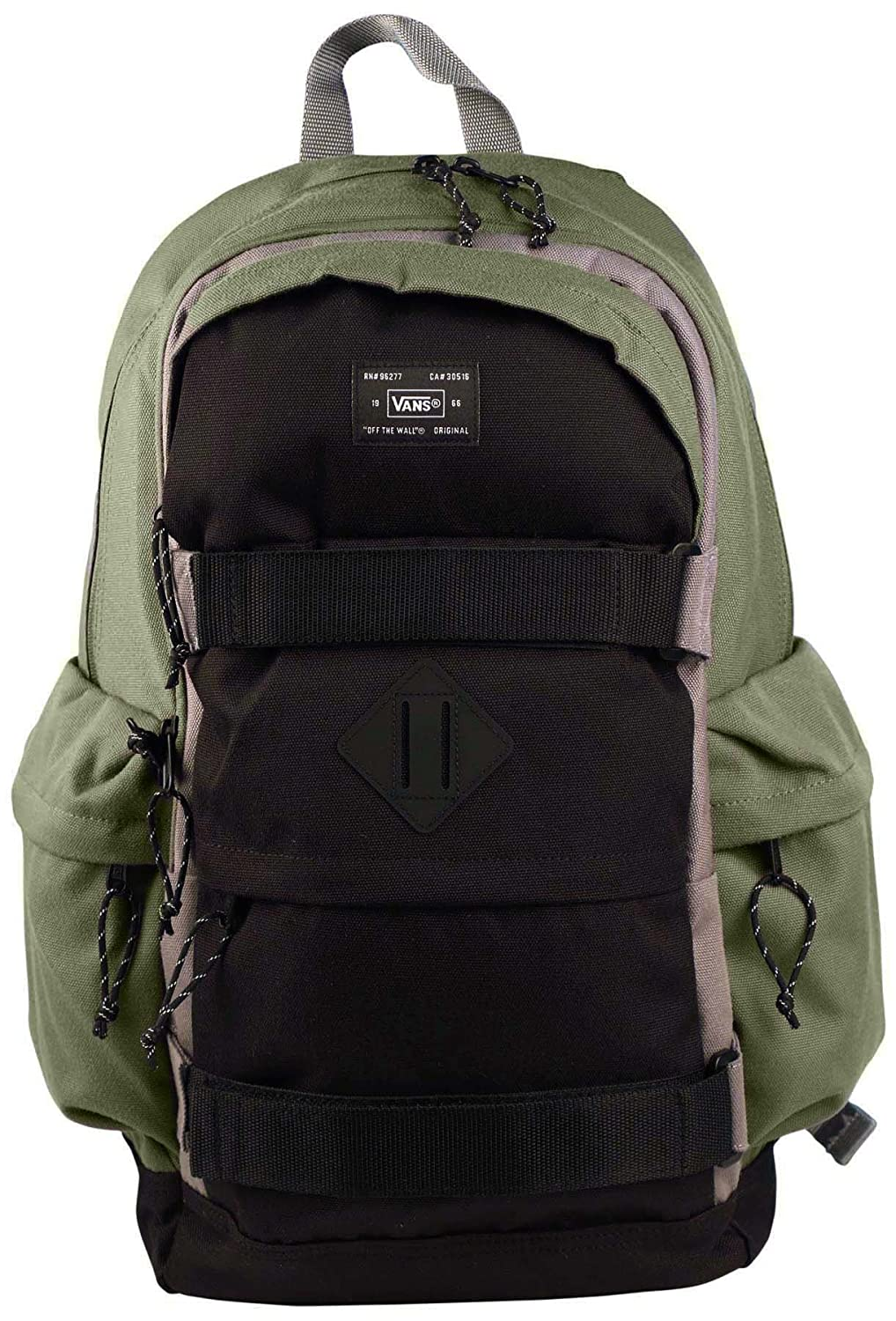 dc6e40a62d Vans Off The Wall Jetter Carry All Skate Backpack-Olive Black  Amazon.ca   Sports   Outdoors