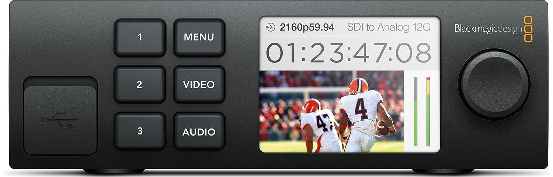 Blackmagic Design コンバーターアクセサリー Teranex mini Rack Smart Panel カラーLCDスクリーン 003376   B0143WIL9C