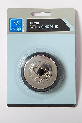 """2"""" Universal Sink/Bath Plug: Amazon.co.uk"""