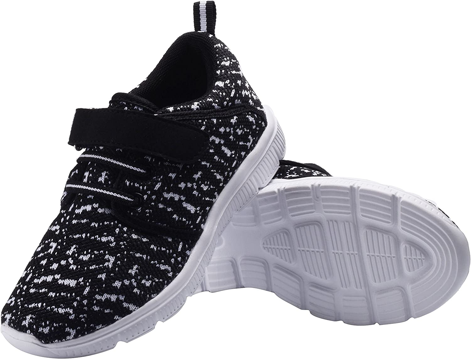 DEDU MusBema Kids Casual Lightweight Breathable Sneakers Easy Walk Sport Shoes for Boys Girls