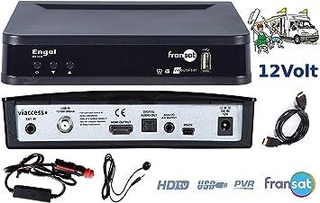 Decodificador FRANSAT ENGEL: Amazon.es: Electrónica