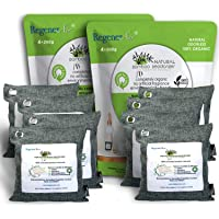 RegenerAir 8x200g Air Purifier Deodorizer Bags 100% Activated Bamboo Charcoal Deodorizer Odor Eliminator for Kitchens…