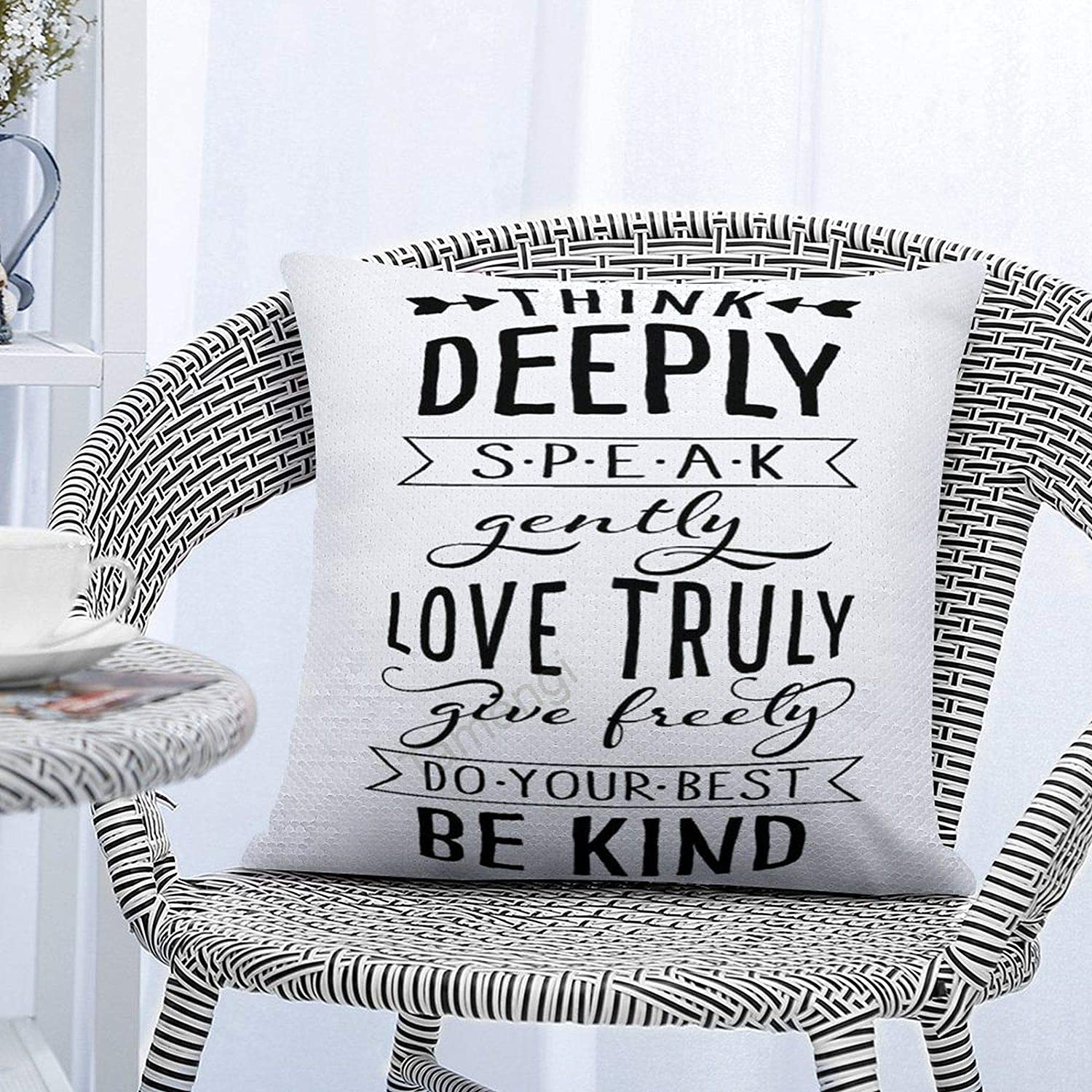 Tamengi Sequin Pillow Covers 16 x 16 Inch Reversible Sequins Pillow Case Sparkle Magic Throw Decorative Pillowcase (Kisspng-wall-decal-house-sticker-family-quote-5b1f9eed03e5e6.334094271528798957016)