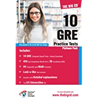 10 GRE Practice Tests - Platinum Pack