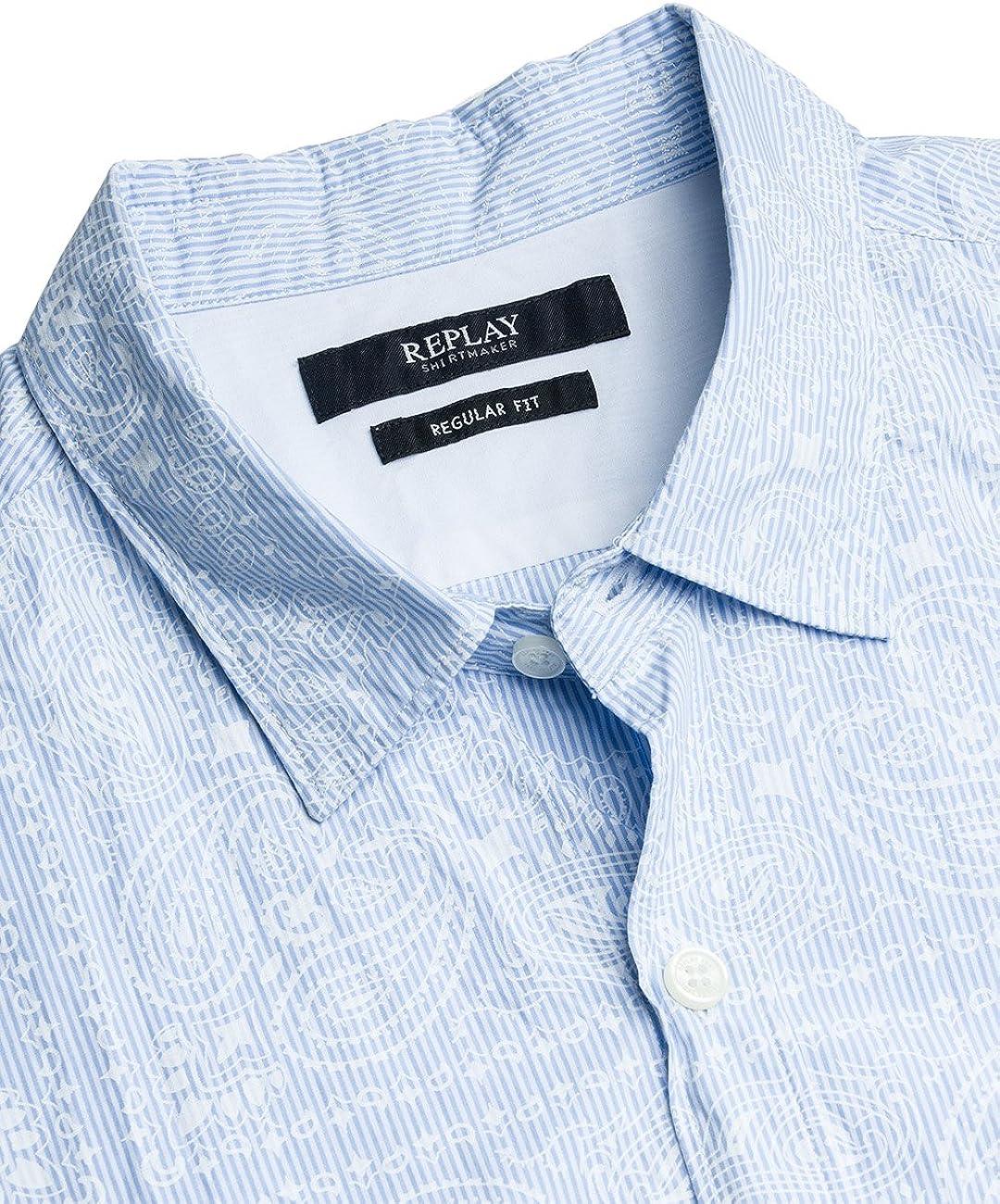 Replay Mens Printed Shirt M4953