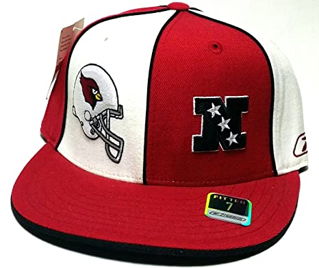 b375dec94d9 Image Unavailable. Image not available for. Color  Arizona Cardinals New  NFL Reebok Retro Pinwheel White Red Era Fitted Hat ...