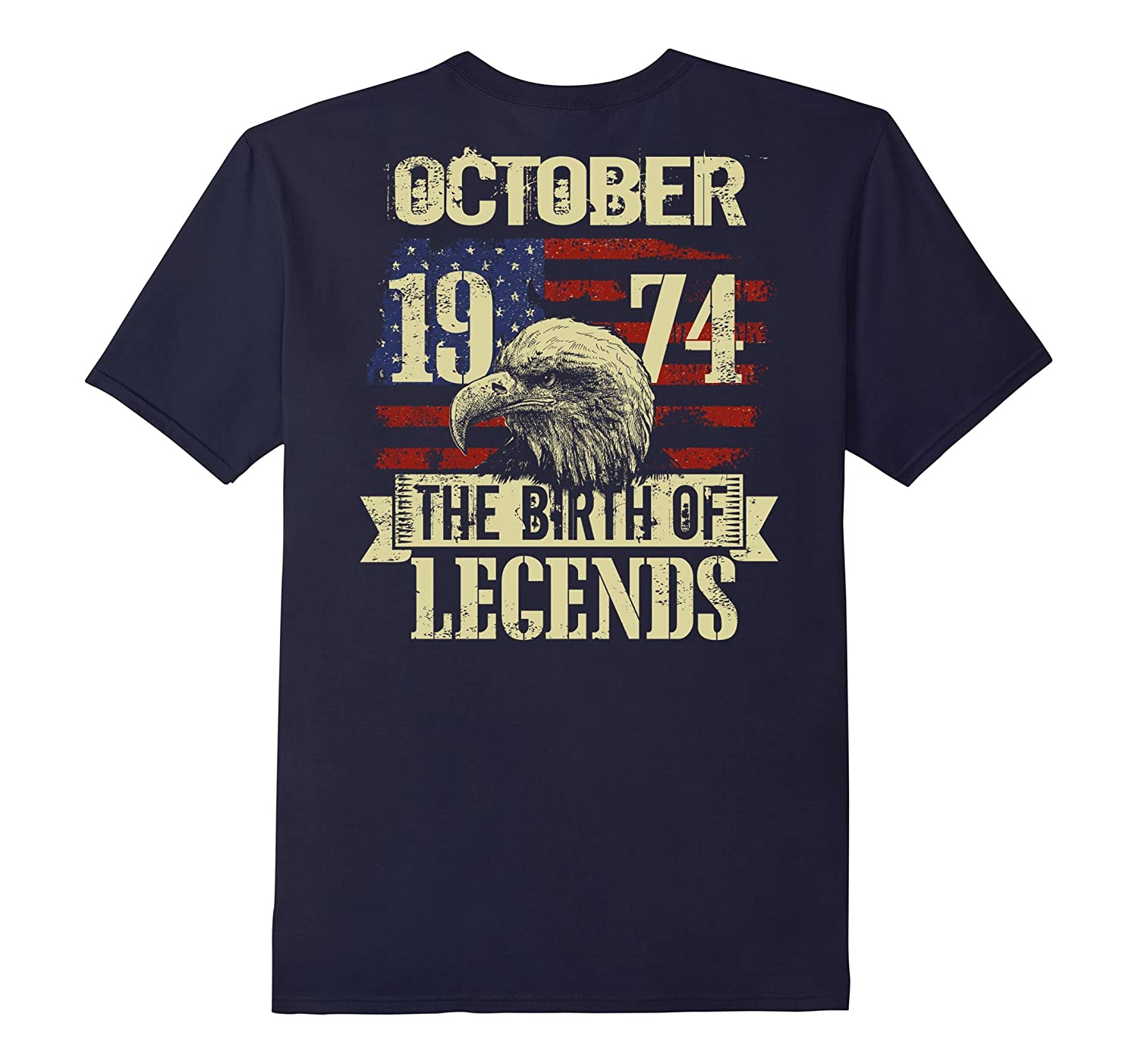 1974 OCTOBER OCT The Birth Of Legends 43 Years Old Backside-FL