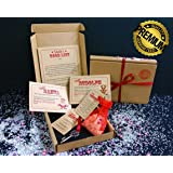 SANTA CHRISTMAS EVE BOX with Vintage Certificate QUALITY A6 Size (simply write your child's name on the letter)