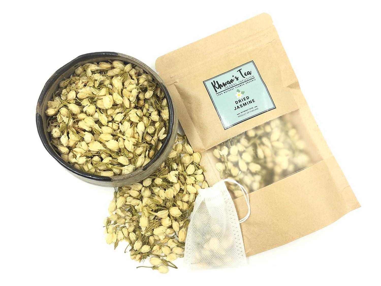 Amazon Pure Dried Jasmine Flower Buds Petals Herbal Decaf Tea
