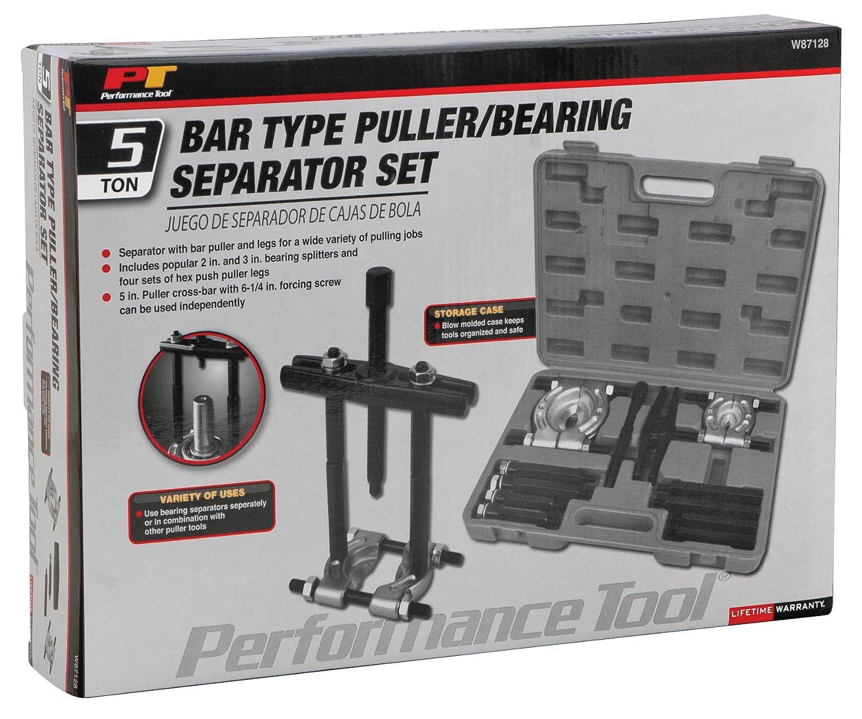 Amazon.com: Performance Tool W87128 5-Ton Bar Puller Separator Set: Automotive