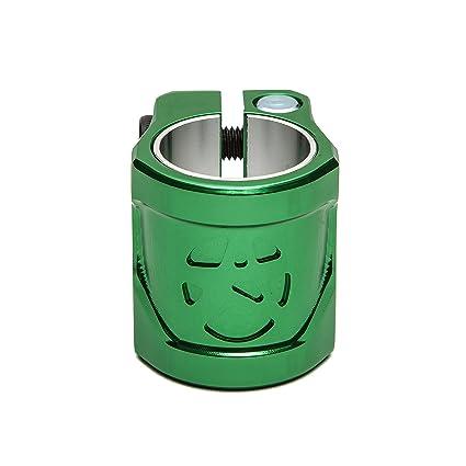 Addict Shield Patinete Clamp con Shim 31,8 o 34,9 mm, verde ...