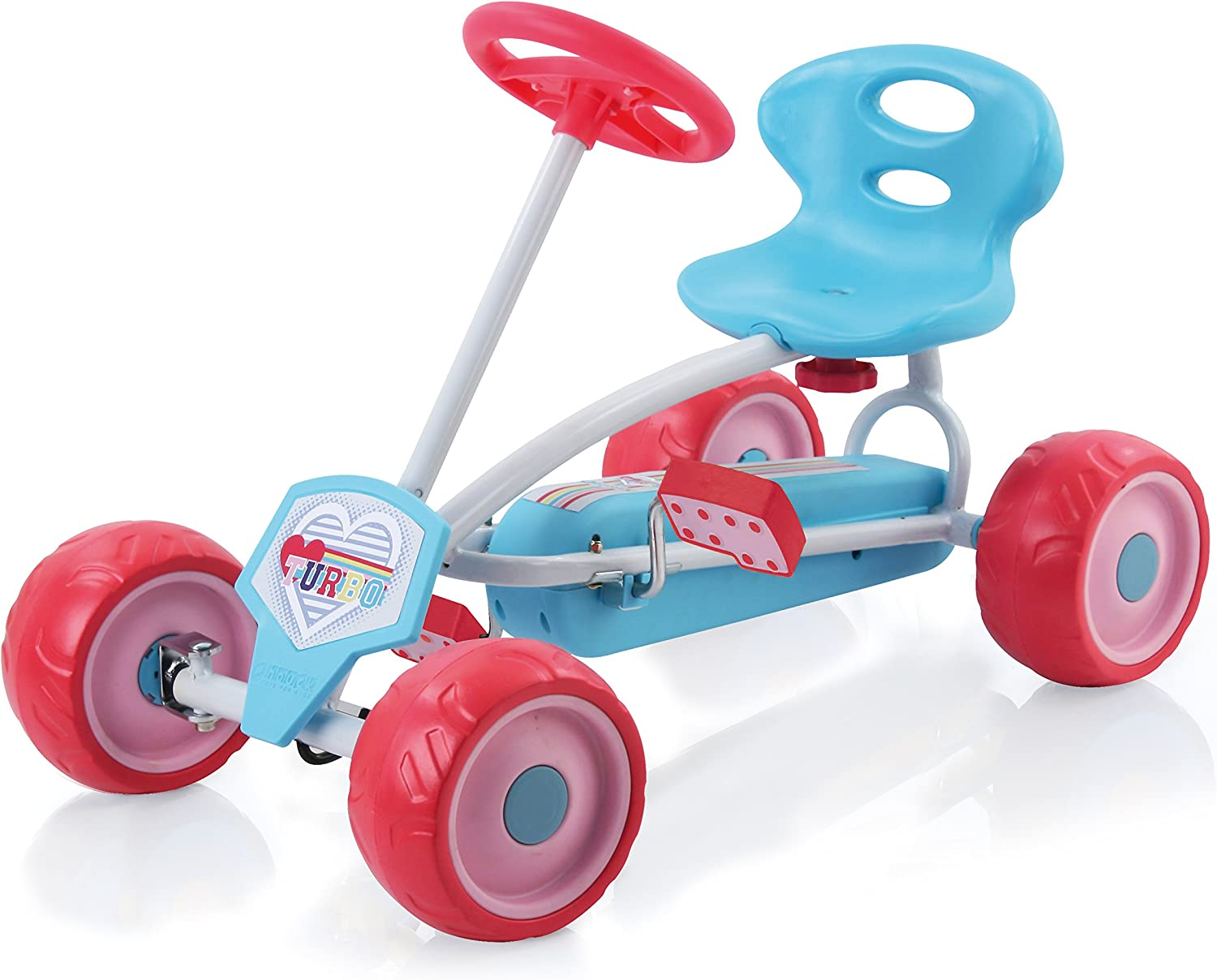Hauck Lil&Rsquo;Turbo Pedal gehen Kart, Blue/Pink
