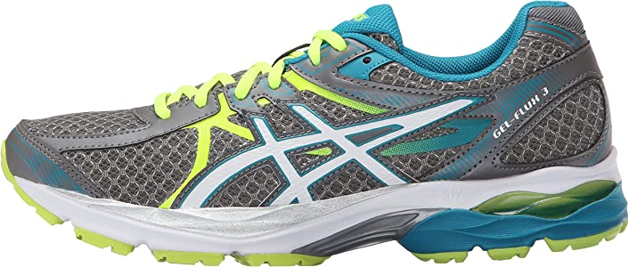 837f28dd4667 Asics Gel-flux 3 Running Shoe  Amazon.co.uk  Shoes   Bags