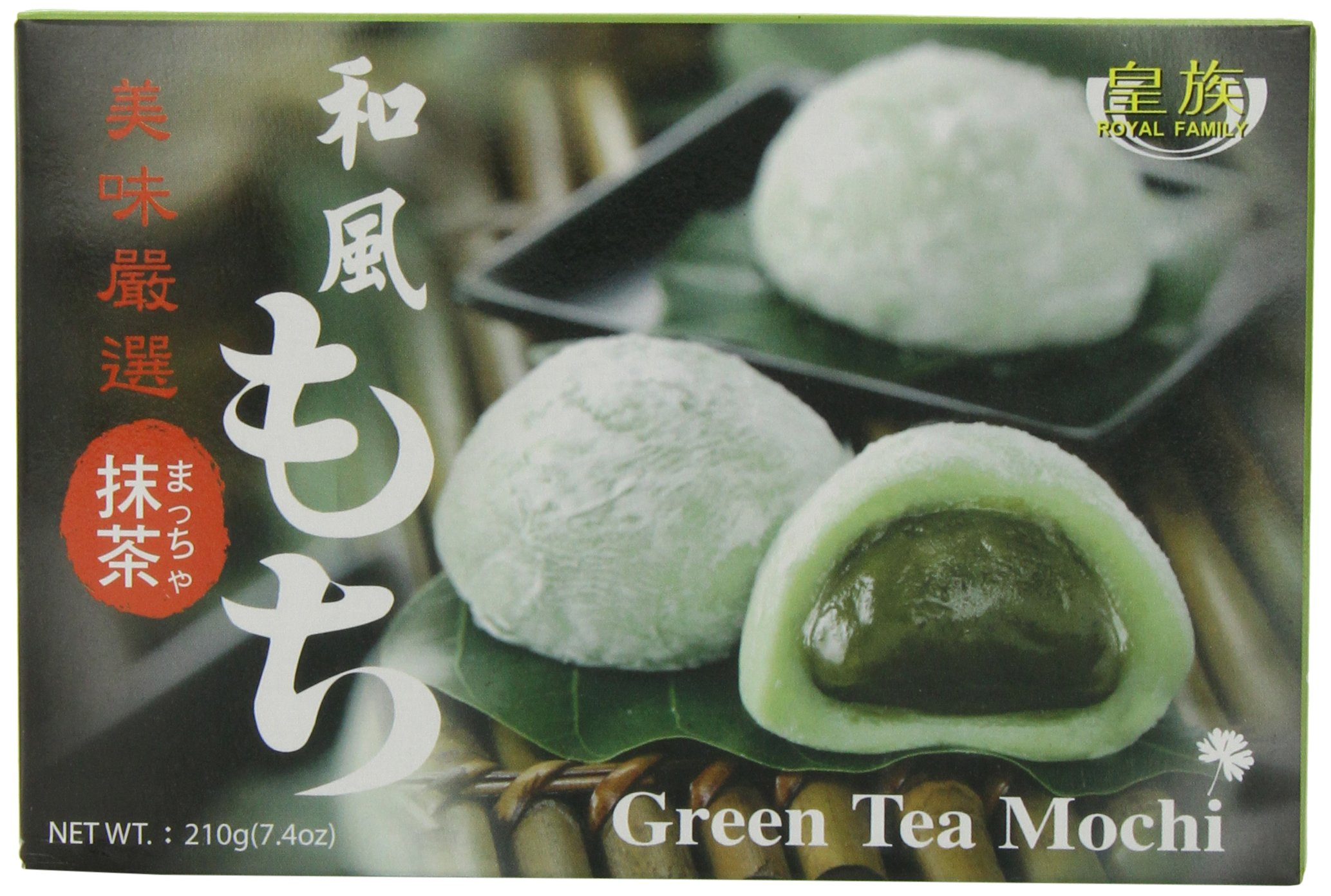 Royal Family Japanese Mochi Green Tea, 7.4-Ounce (Pack of 8) by Royal Family