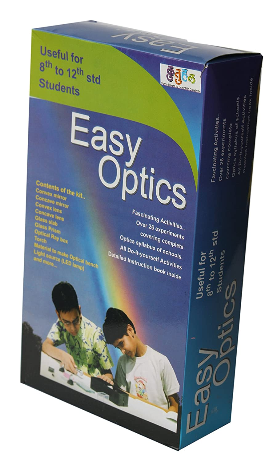 Buy kutuhal easy optics physics experiment kit multicolour online buy kutuhal easy optics physics experiment kit multicolour online at low prices in india amazon solutioingenieria Gallery