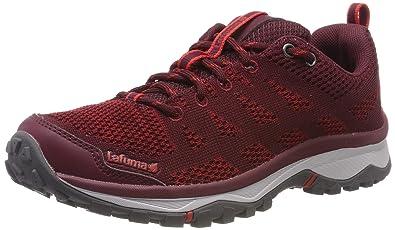 706c4db87e715 Lafuma Women's Shift Knit W Low Rise Hiking Shoes Red (Pomegranate 6089)  3.5 UK