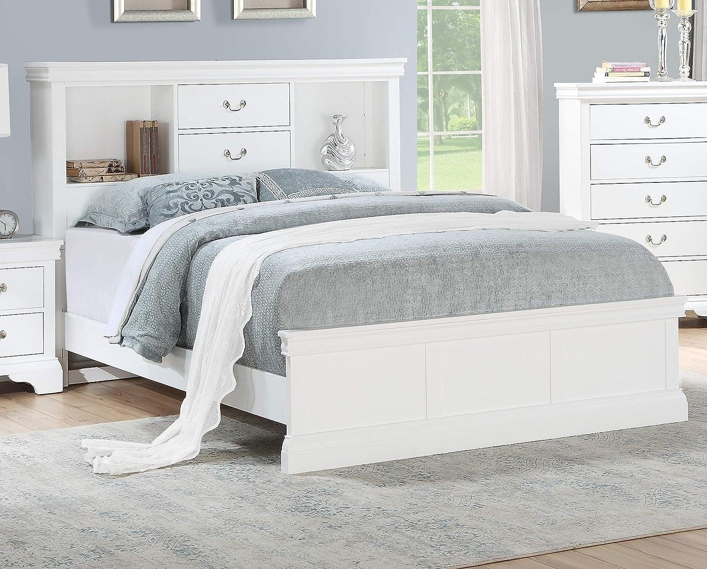 Amazon.com: Esofastore Classic Modern Bedroom Furniture California ...