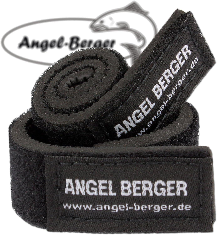 Angel-Berger Rod Velcro Strap 10 x Neoprene Rod Band Set of 2