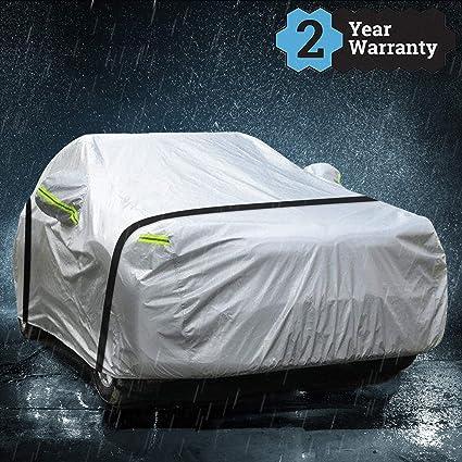 Protection Contre la Pluie poussi/ère Housses pour Auto Est Compatible avec la Audi Q3 B/âche Voiture//Tout Temps Vent UV//Int/érieur ext/érieur Soleil