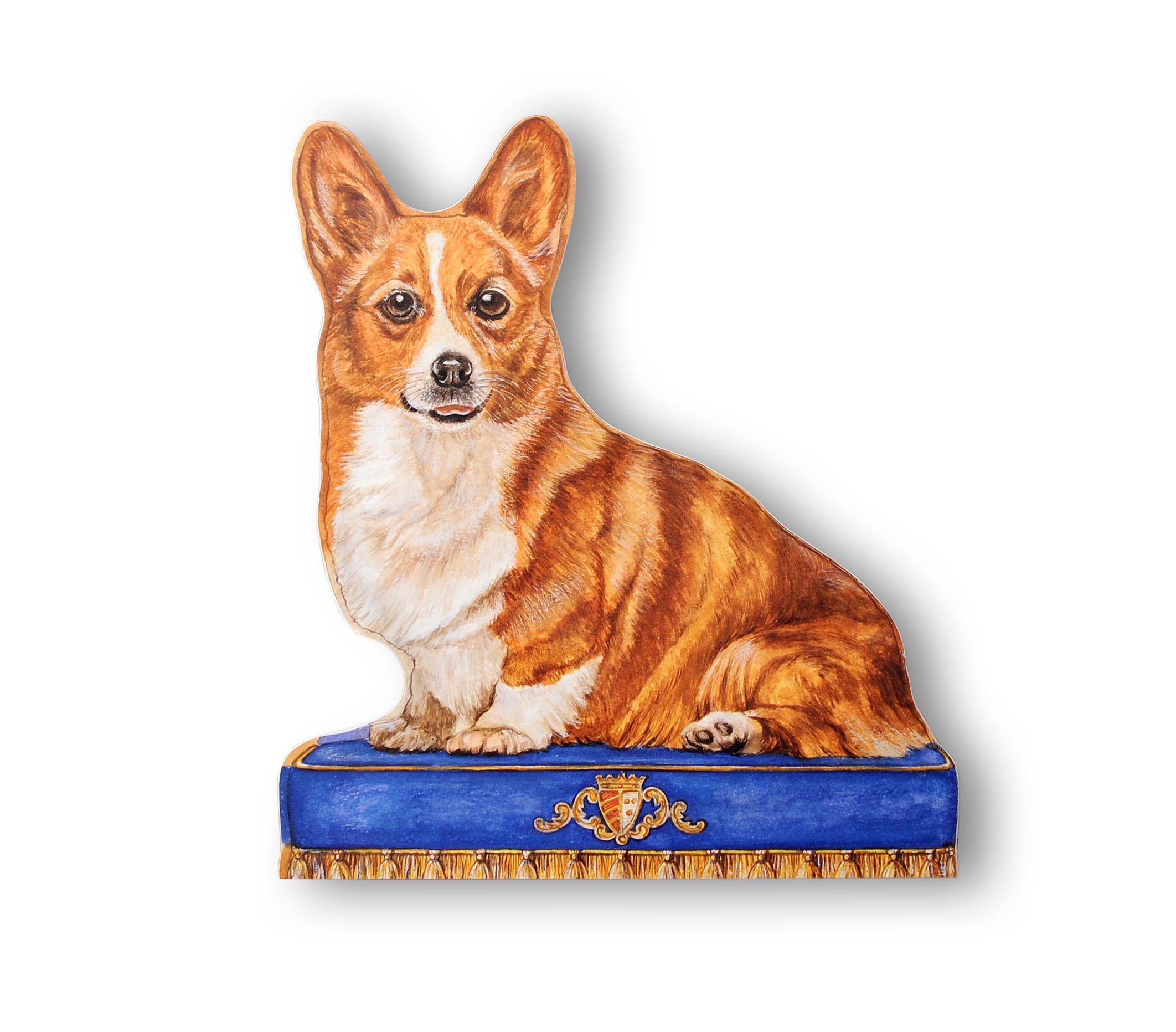 Stupell Home Décor Corgi Decorative Dog Door Stop, 15 x 0.5 x 13.5, Proudly Made in USA
