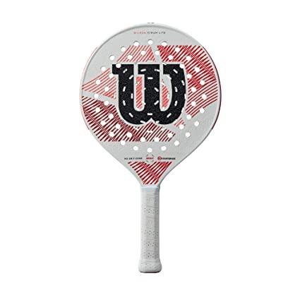 Amazon.com : Wilson Steam Lite Gruuv Platform Tennis Paddle ...