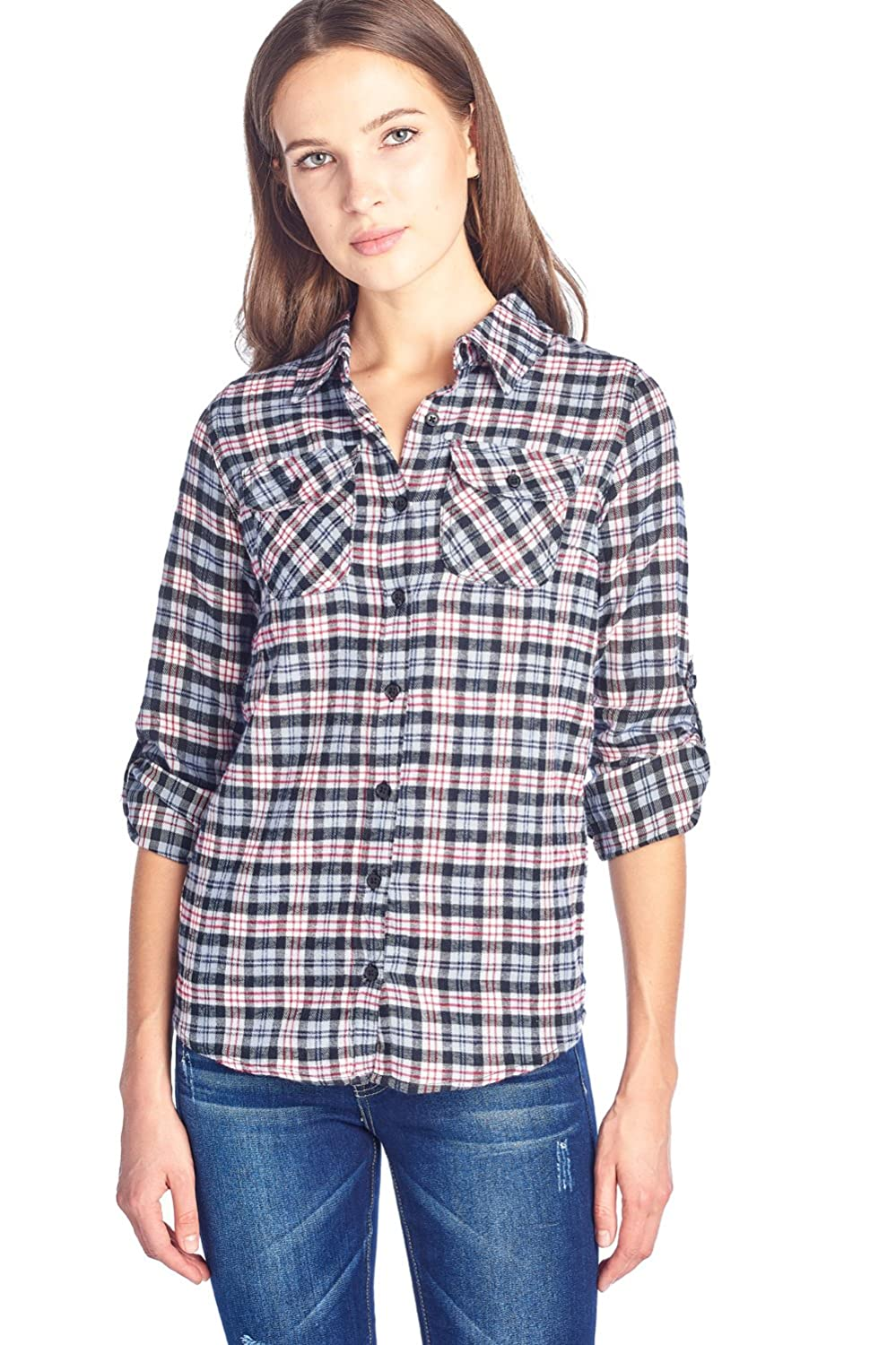 c6b8ae1b88d Top 10 wholesale Women In Flannel Shirts - Chinabrands.com