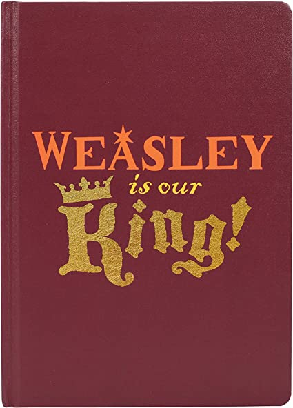 Harry Potter A5 Notebook-Ron Weasley (Weasley es nuestro rey ...